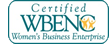 Certified WBENC - Women's Business Enterprise National Council